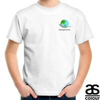 ToC ethical t-shirt small logo front - kids Thumbnail