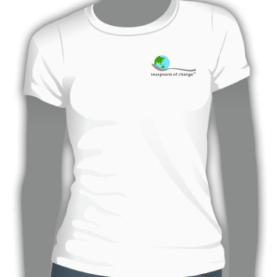 ToC ethical t-shirt logo front & back - women Thumbnail